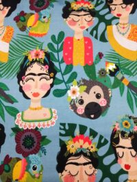 Inspirante Frida turquoise