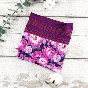 Sac de transport- Duosac -Roses violettes | AZV